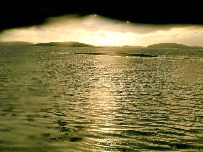 L'océan offre des reflets incroyables