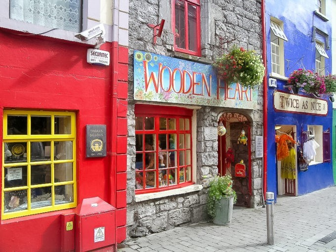 Dans les rues de Galway