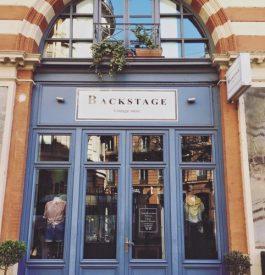 La façade de Backstage Vintage Store à Toulouse