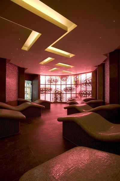 Le spa de l'hôtel Hermitage en Andorre