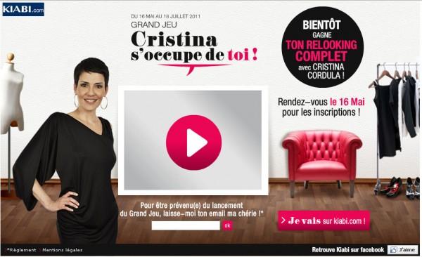 Cristina cordula en mode relooking blog mode for Blog relooking