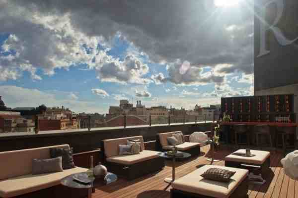 La terrasse du Renaissance à Barcelone