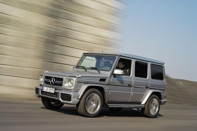 La classe légendaire du G de Mercedes Benz