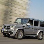 Le classe G de Mercedes Benz, l'assurance du tout-terrain