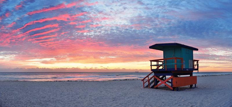 Miami et sa belle plage