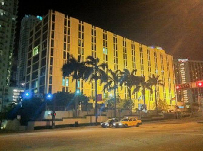 Ambiance de nuit dans Miami