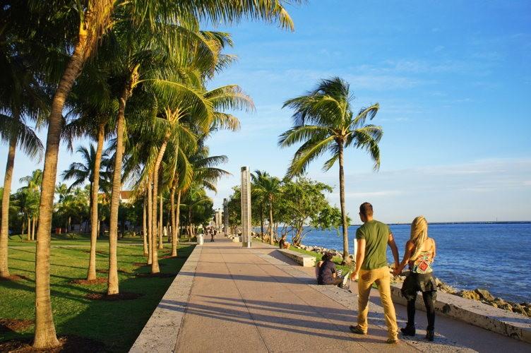 Le boardwalk est le lieu idéal pour une balade