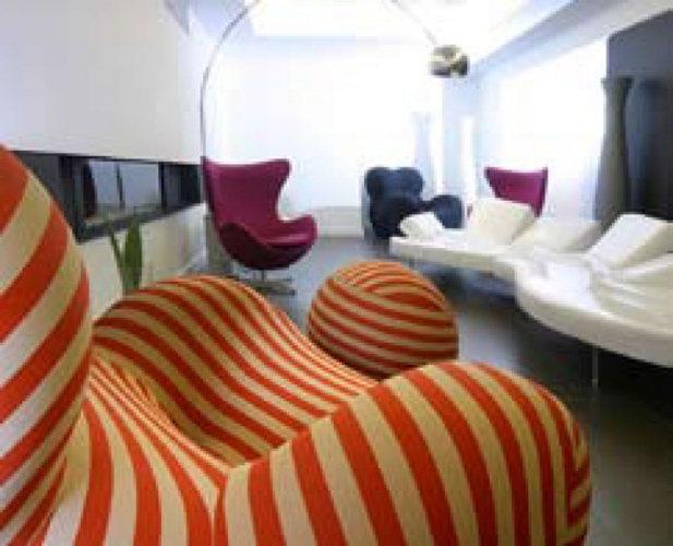 Le Rex Hôtel, un hôtel design au cœur des Pyrénées, salon