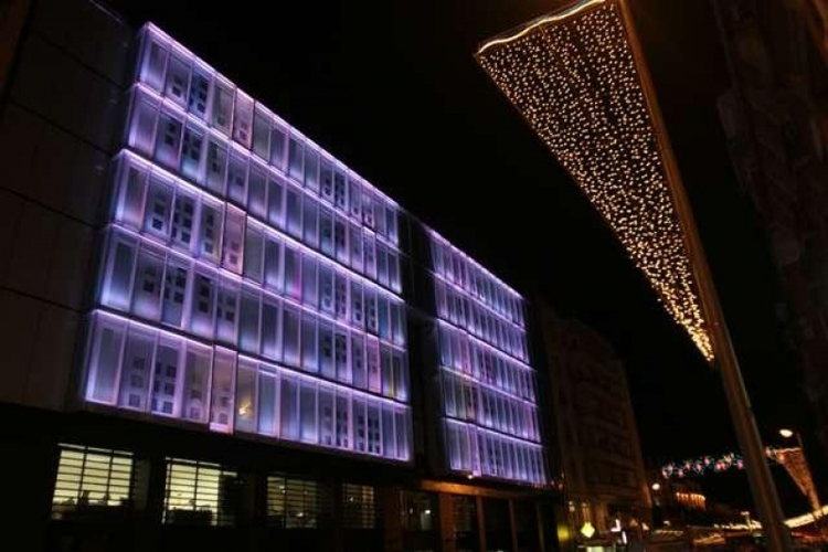 Le Rex Hôtel, un hôtel design au cœur des Pyrénées, vue extérieure