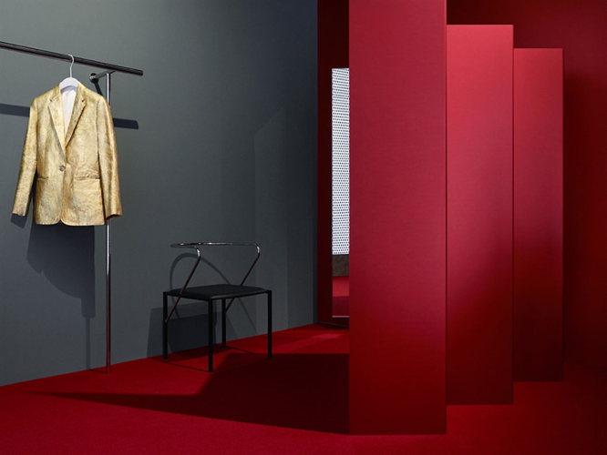 Dressing de luxe dans les studios Acne à Los Angeles