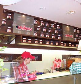 Nutelleria, le bar à Nutella à Chicago