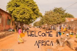 Souvenir inoubliable du Sénégal en Afrique