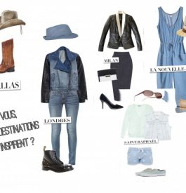 Des jeans qui incarnent des destinations