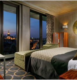 Vue imprenable du Uptown Hôtel à Milan