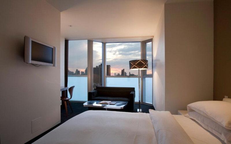 Chambre de luxe à l'hôtel On Rivington à New York