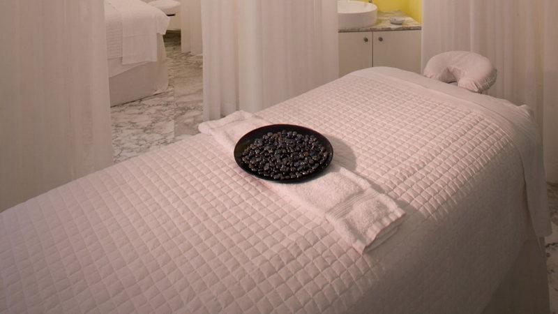La salle de massage de luxe du Viceroy Spa à Miami