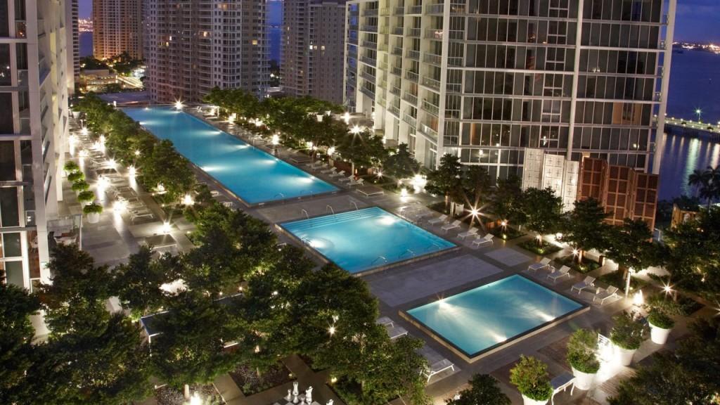 Au Viceroy hôtel à Miami