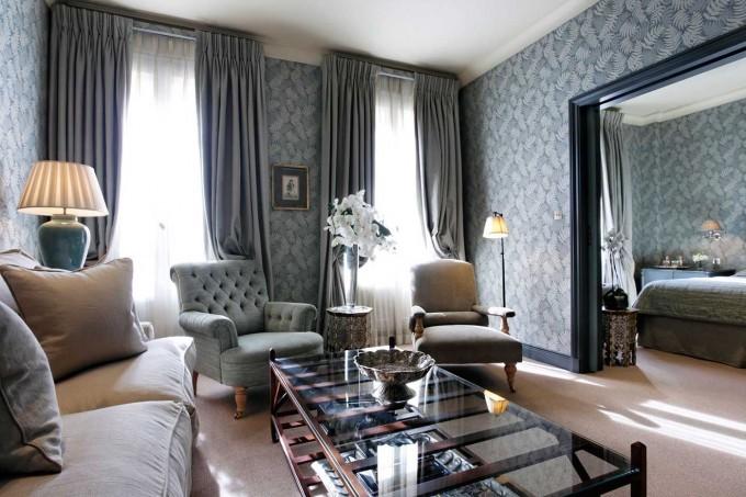 Chambre de l'hôtel Daniel à Paris