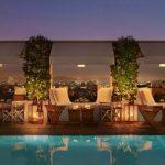 Hôtel Mondrian à Los Angeles