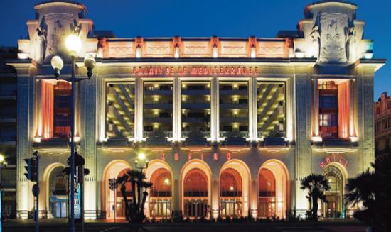 L'Hôtel Le Palais De La Méditerranée à Nice