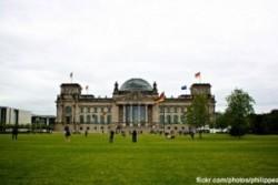 Le Reichstag à Berlin