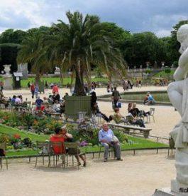 Rejoindre les jardins du Luxembourg Paris