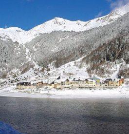 Artouste la station village de ski des Pyrénées