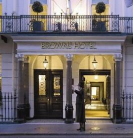 Voyage : Brown Hotel à Londres