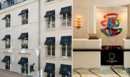 Voyage : L'Hôtel Le Burgundy à Paris