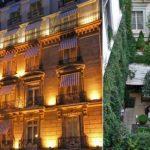 Voyage à l'hôtel Lancaster à Paris