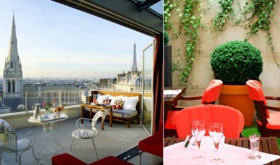 Voyage : L'Hôtel De Sers à Paris
