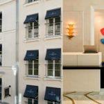 L'Hôtel Le Burgundy à Paris