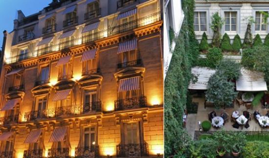 Voyage : L'hôtel Lancaster à Paris