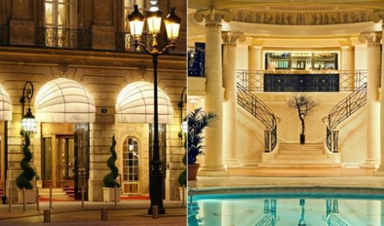 Voyage : L'hôtel The Ritz à Paris