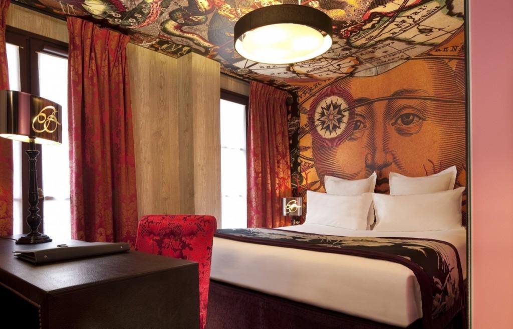 Une autre chambre à l'hôtel Le Bellechasse à Paris