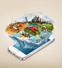 Abu Dhabi lance sa nouvelle application mobile