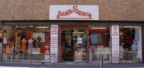 Anaïs Friperie à Toulouse