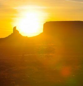 Camper chez des Navajos