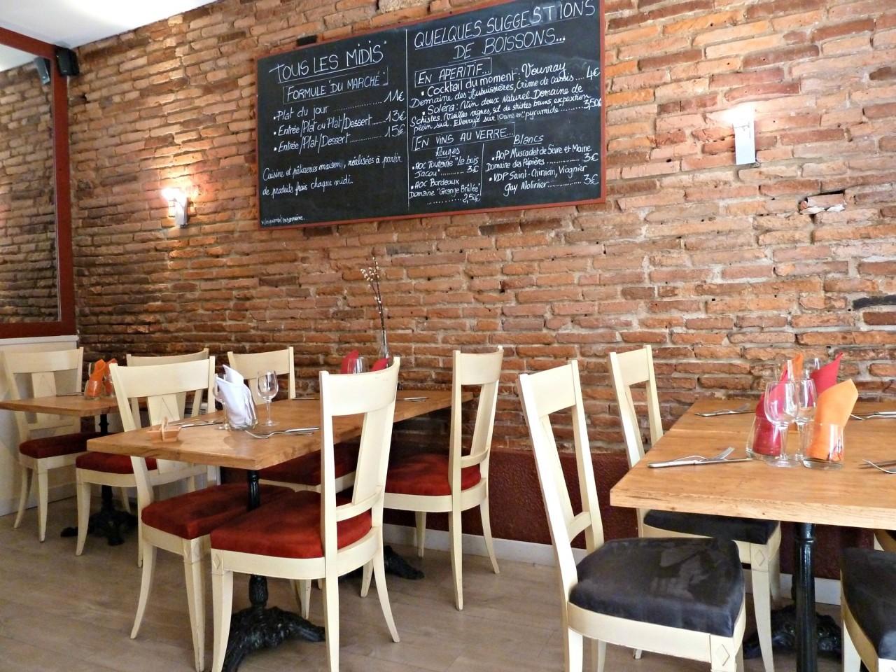 Le restaurant le perchepinte toulouse for Restaurant le miroir toulouse