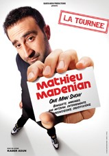 Spectacle de Mathieu Madenian