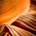 Dans les entrailles d'Antelope Canyon