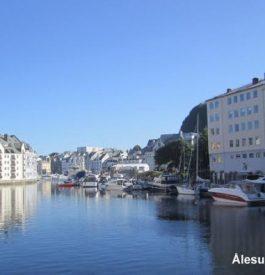 Visiter Alesund en Norvège