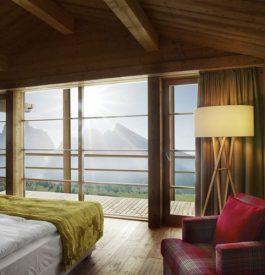 Mountain Lodge, refuge de luxe classé
