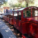 Voyage en petit train dans le parc de l'Oreneta