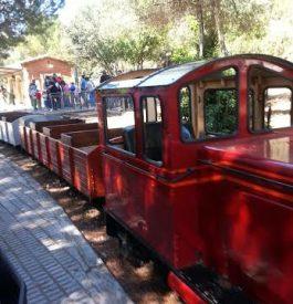 Balade en petit train dans le parc de l'Oreneta