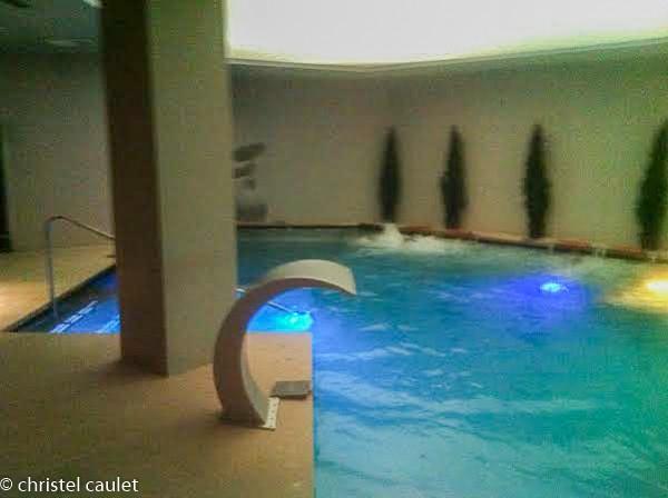 Le spa du Plaza Andorra à Andorre la Vieille