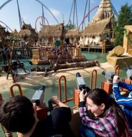 Rejoindre le parc d'attraction Portaventura