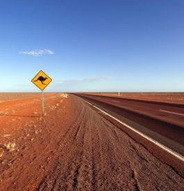 Sur les routes en Australie