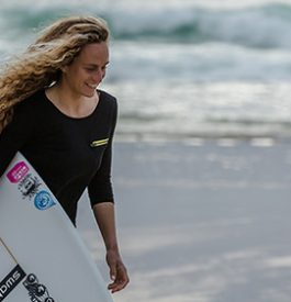 Surf au programme du Swatch Girls Pro France