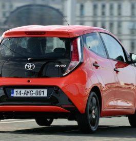 AYGO, la nouvelle Toyota citadine
